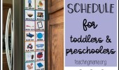 How to Use Visual Schedules For Toddlers With Autism