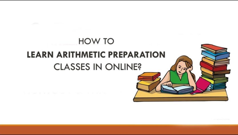 How to learn arithmetic preparation classes in online